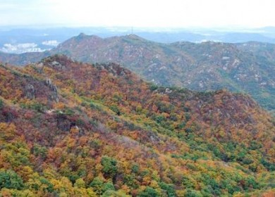4 Mountains for autumn color in Korea